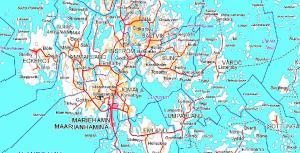 Eckerön saari, sekä osa Ahvenanmaan mannerta